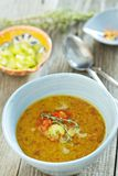 Lentil soup in a bowl Royalty Free Stock Photo
