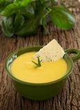 Lentil soup and pumpkin Royalty Free Stock Photos