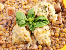 Lentil soup Royalty Free Stock Photo