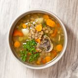 Lentil soup Royalty Free Stock Photos