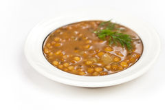 Lentil soup Royalty Free Stock Images