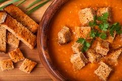 Lentil soup Stock Photography