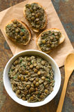 Lentil Spread Royalty Free Stock Images