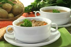 Lentil stew Royalty Free Stock Photography