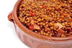 Lentil stew Stock Photography
