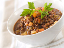 Lentil stew Royalty Free Stock Images