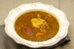 Lentil stew Royalty Free Stock Photos