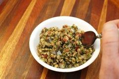 Lentil Tabbouleh Salad Stock Images