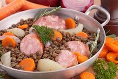 Lentil Sausage Stock Photos & Images