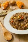Lentil and vegetables Stock Photo
