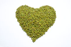 Lentilha verde Imagem de Stock Royalty Free