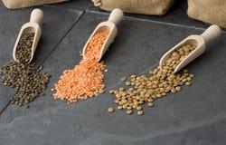Lentilhas Imagem de Stock