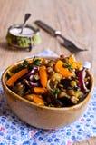 Lentilhas cozinhadas com vegetais Imagem de Stock Royalty Free