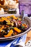 Lentilhas cozinhadas com vegetais Foto de Stock Royalty Free
