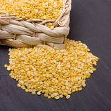 Lentilhas de Moong Daal Fotos de Stock