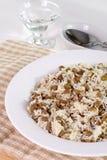 Lentilhas e arroz Imagem de Stock Royalty Free