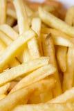 Lentille d'utilisation des pommes frites closeup Photos libres de droits