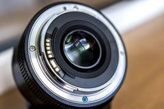 Lentille de baïonnette Une lentille avec une longueur focale fixe photo libre de droits