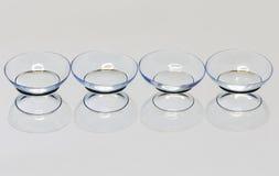 Lentilles de contact souple Photo libre de droits
