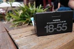 Lentille de Fujinon Photographie stock libre de droits