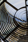 Lentille de lampe de phare Image stock