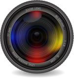 Lentille de photo d'appareil-photo illustration stock