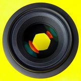 Lentille de SLR Photo libre de droits
