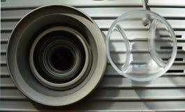 Lentille et couverture de projecteur Photo stock