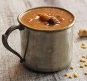 Lentille Kheer/Pradaman - le dessert de lentille a préparé pendant des festivals indiens du sud photographie stock libre de droits