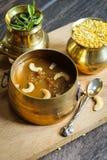 Lentille Kheer/Pradaman - le dessert de lentille a préparé pendant des festivals indiens du sud photos stock