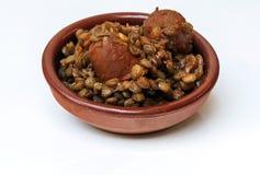 Lentilles Photo stock