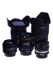 Lentilles de photo photographie stock