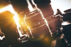 Lentilles de photo numérique photos libres de droits