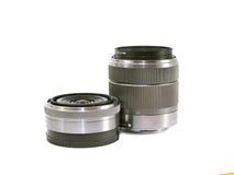 Lentilles photographiques. Photo stock