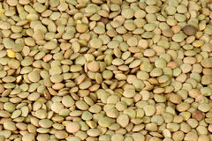 Lentils. A dried, tasty and delicious lentils background Stock Photography