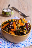 Lentils cooked with vegetables Royalty Free Stock Image