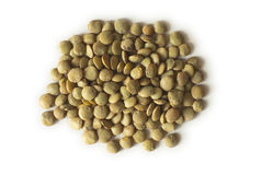 Lentils. Design on white background Royalty Free Stock Photos