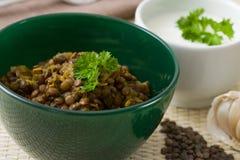 Lentils Hotpot Stock Photo