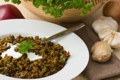Lentils Hotpot Stock Image