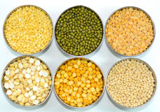 Lentils and Pulses stock image