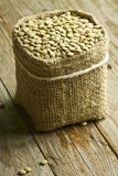 Lentils sack Royalty Free Stock Photography