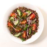 Lentils salad Stock Image