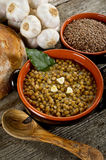 Lentils Soup Royalty Free Stock Photography