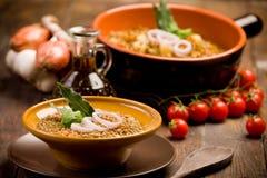 Lentils Soup Stock Photography