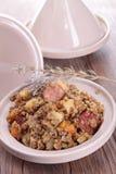 Lentils stew Royalty Free Stock Photo
