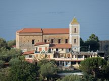 Lentiscosa - Sanctuary of Santa Rosalia Royalty Free Stock Photography