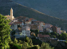 Lento church in corsica island Royalty Free Stock Photo