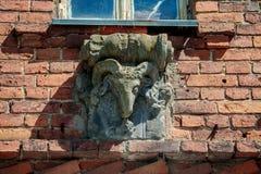 Lentvaris rezydencja ziemska w Lithuania Obrazy Stock