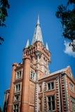 Lentvaris rezydencja ziemska w Lithuania Fotografia Royalty Free