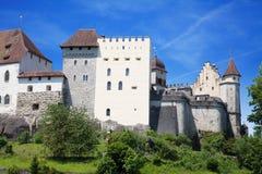 Lenzburg castle Stock Photography